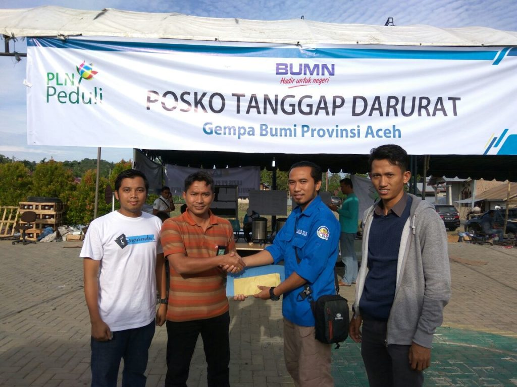 Photo of LASKAR PLN Peduli Aceh